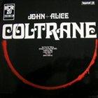 JOHN COLTRANE John + Alice Coltrane album cover