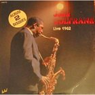 JOHN COLTRANE Live 1962 album cover