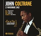 JOHN COLTRANE Live In Paris 17 Novembre 1962 album cover