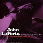 JOHN LAPORTA Complete Debut Recordings album cover