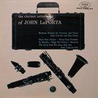 JOHN LAPORTA The Clarinet Artistry of John LaPorta album cover