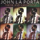 JOHN LAPORTA Theme and Variations album cover
