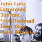 JOHN LAW (PIANO) Extremely Quartet album cover