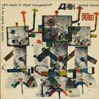 JOHN LEWIS John Lewis & Albert Mangelsdorff & The Zagreb Jazz Quartet : Animal Dance album cover