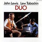 JOHN LEWIS John Lewis / Lew Tabackin : Duo album cover