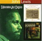 JOHN LEWIS The Golden Striker/John Lewis Presents Jazz Abstractions album cover
