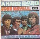 JOHN MAYALL John Mayall And The Bluesbreakers : A Hard Road album cover