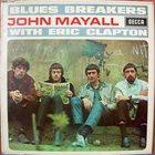 JOHN MAYALL John Mayall With Eric Clapton : Blues Breakers album cover