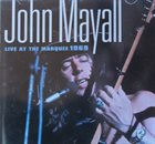 JOHN MAYALL Live At The Marquee 1969 album cover