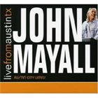 JOHN MAYALL Live From Austin TX album cover
