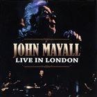 JOHN MAYALL Live in London album cover