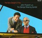 JOHN PIZZARELLI John Pizzarelli George Shearing :  The Rare Delight of You album cover