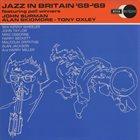 JOHN SURMAN Jazz in Britain '68 - '69 (John Surman, Alan Skidmore & Tony Oxley) album cover
