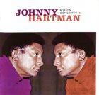 JOHNNY HARTMAN Boston Concert 1976 album cover