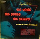 JOHNNY HARTMAN Songs From the Heart (aka From The Heart) album cover