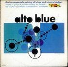 JOHNNY HODGES Alto Blue album cover