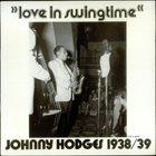 JOHNNY HODGES Love In Swingtime album cover
