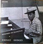 JOHNNY HODGES Memories of Ellington (aka In A Mellow Tone) album cover
