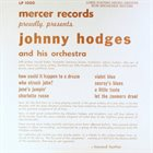 JOHNNY HODGES Mercer Records Proudly Presents album cover