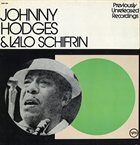 JOHNNY HODGES Previously Unreleased Recordings (with Lalo Schifrin) album cover