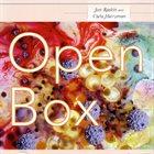 JON RASKIN Jon Raskin and Carla Harryman : Open Box album cover