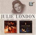 JULIE LONDON Julie... At Home / Around Midnight album cover