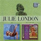 JULIE LONDON Julie / Love on the Rocks album cover