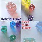 KATE WILLIAMS Four Plus Three album cover