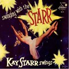 KAY STARR Swingin' with Kay Starr album cover
