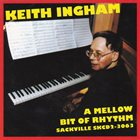 KEITH INGHAM A Mellow Bit of Rhythm album cover