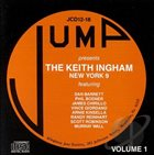 KEITH INGHAM The Keith Ingham New York 9, Vol. 1 album cover