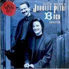 KEITH JARRETT Keith Jarrett & Michala Petri : Bach Sonatas album cover