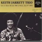 KEITH JARRETT Live At Gran Studio 104 In Paris June 9th 1972 album cover
