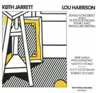 KEITH JARRETT Lou Harrison: Piano Concerto / Suite for Violin, Piano and Small Orchestra album cover