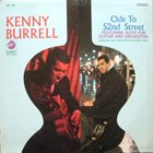 KENNY BURRELL Ode To 52nd Street album cover