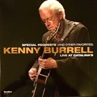 KENNY BURRELL Special Requests (And Other Favorites): Live at Catalina's album cover