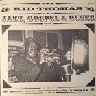 KID THOMAS Jazz, Gospel & Blues: Living New Orleans Jazz-1973 album cover