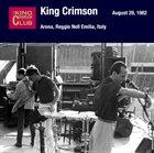 KING CRIMSON August 29, 1982 - Arena, Reggio Nell Emilia, Italy album cover