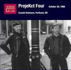 KING CRIMSON Crystal Ballroom, Portland, October 30, 1998 album cover