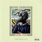 KING CRIMSON Level Five - Limited Edition Tour CD album cover