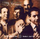 KING CRIMSON Live At Cap D'Agde, 1982 (KCCC 4) album cover