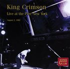 KING CRIMSON Live At The Pier, New York, August 2, 1982 (KCCC 37) album cover