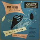 KING OLIVER Plays The Blues album cover