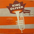 KING OLIVER King Oliver Vol. 1 album cover