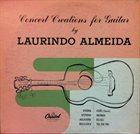 LAURINDO ALMEIDA Concert Creations For Guitar album cover