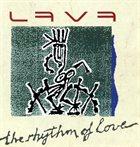LAVA The Rhythm Of Love album cover