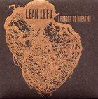 LEAN LEFT I Forgot to Breathe album cover