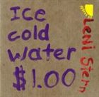 LENI STERN ice cold water...$1 album cover