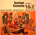 LESTER BOWIE Numbers 1&2 (with Roscoe Mitchell / Joseph Jarman / Malachi Favors) album cover