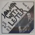 LESTER YOUNG Jammin With Lester Volume Two album cover